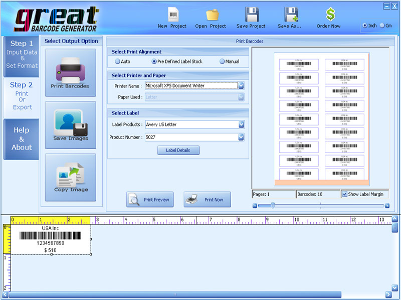 Best Barcode Generator 5.1 full